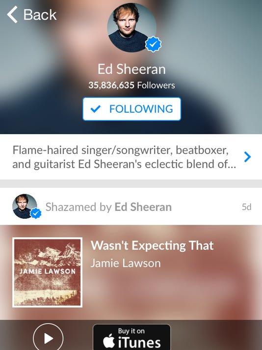 Shazam-Sheeran