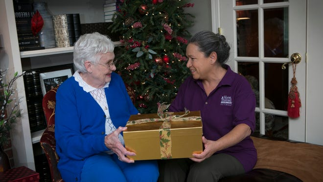 Be a Santa to a Senior gifts will be delivered with kind words to remind seniors that their community cares about them.
