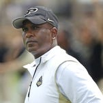 Purdue's Darrell Hazell is joining other Big Ten programs in working satellite camps in other parts of the country.
