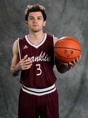 All-Midstate Reese Glover, Franklin High, Basketball