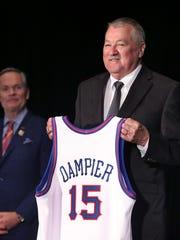 Indianapolis native Louie Dampier, a seven-time ABA