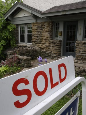 Home sales fell in April as inventory remained tight.