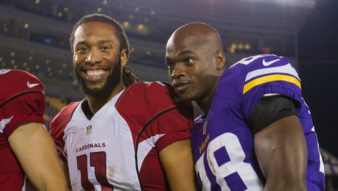 Adrian Peterson and Larry Fitzgerald as teammates?