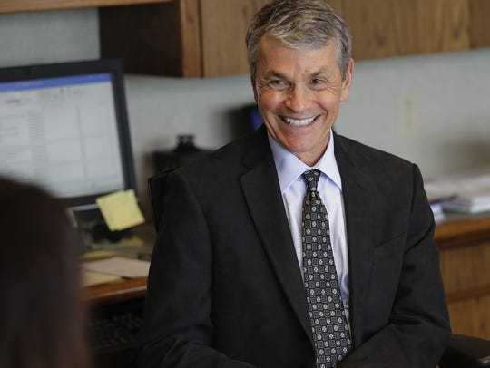 George Kerwin, President/CEO of Bellin Health System,