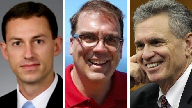 Matthew Krueger, Jonathan Koenig and John Franke