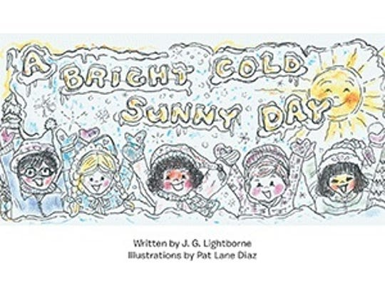 "Cover art for ""A Bright Cold Sunny Day."""