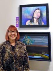 Best of Show: Debra Miller West Coast Dreaming acrylic.
