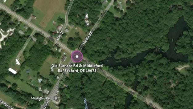 A crash in Seaford left two people critically injured and another passenger with minor injuries, according to state police.