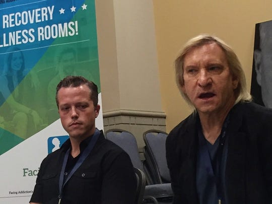 Jason Isbell and Joe Walsh spoke of the toll addiction takes on families, how to stay grounded while on the road and how recovery has benefited their craft.