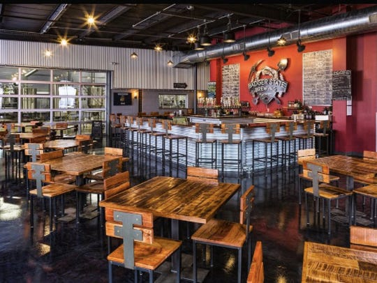 Badger State Brewery's taproom 990 Tony Canadeo Run,