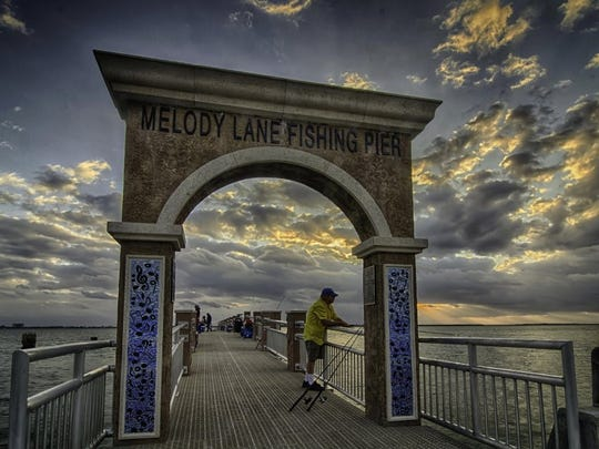 Wayne Maris, of Indian River County, took this photo at the new Melody Lane Fishing Pier in Fort Pierce.