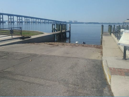 Downtown Fort Myers boat ramp is expected to be closed as part of the development of a new hotel on the other side of Edwards Drive.
