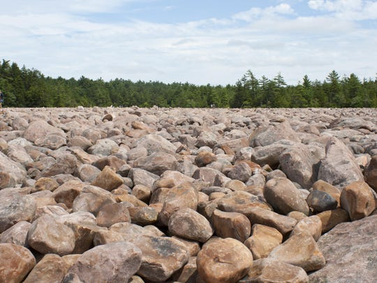 The boulder field may be Hickory Run State Park's best recognized feature. It is believed to have been created 20,000 years ago during the last glacial period.
