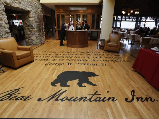 The Bear Mountain Inn at Bear Mountain State Park on Jan. 12, 2014. ( Ricky Flores / The Journal News )