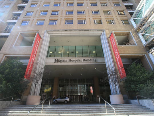 The Milstein Hospital Building at New York-Presbyterian Hospital in Manhattan. New York-Presbyterian took over Lawrence Hospital in Bronxville last year and just won state approval to do the same at Hudson Valley Hospital Center in Cortland.