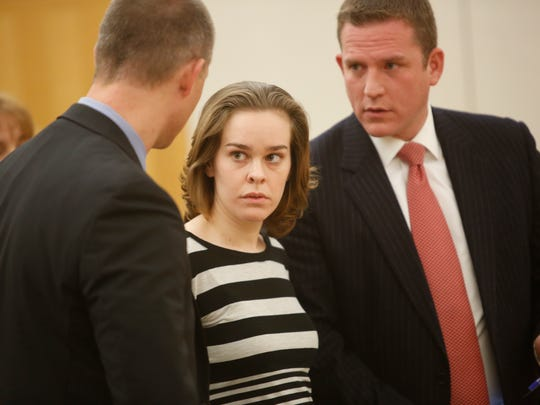 Lacey Spears made a appearance at the Westchester County Courthouse on Dec. 11, 2014.