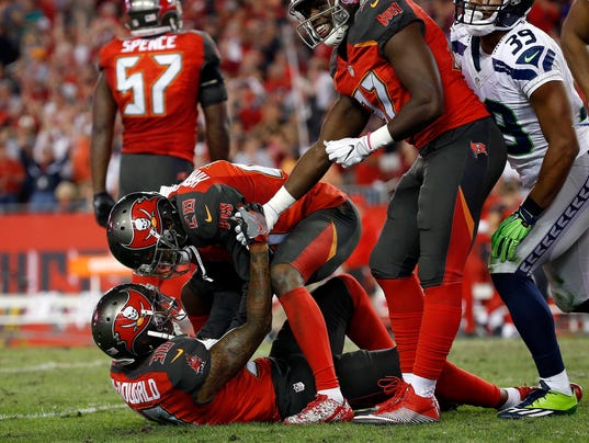 USP NFL: SEATTLE SEAHAWKS AT TAMPA BAY BUCCANEERS S FBN USA FL
