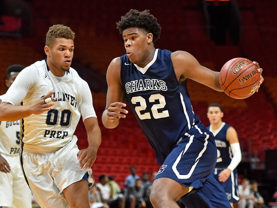 Fort Lauderdale University School's Vernon Carey Jr. is the No. 2 -ranked junior in the country. University School will face Briarwood (N.Y.) Archbishop Molloy at 7 p.m. on Tuesday in the first round of the City of Palms Classic.