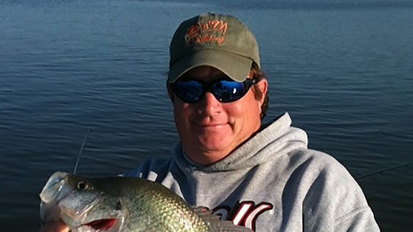 B&M Fishing team member Hugh Krutz offers advice on crappie fishing.