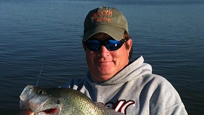 B&M Fishing team member Hugh Krutz offers advice on crappie fishing.
