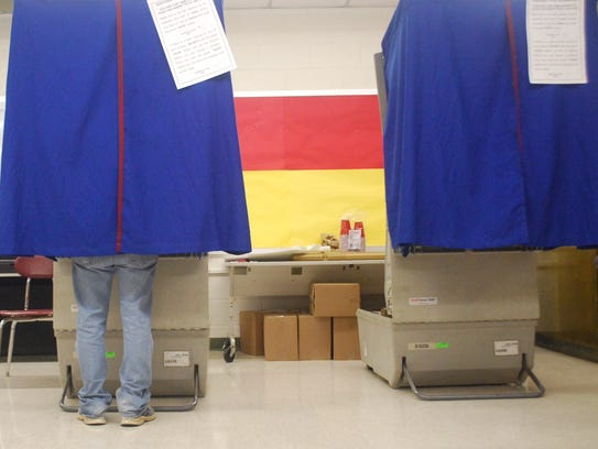 Voting in the Delaware Senate District 10 race takes