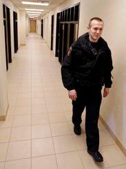 Ankeny police Officer Jacob Miller spent a year applying