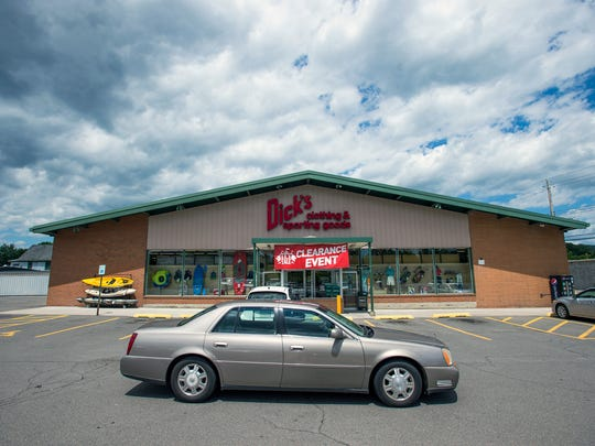 The original Dick's Sporting Goods on Binghamton's