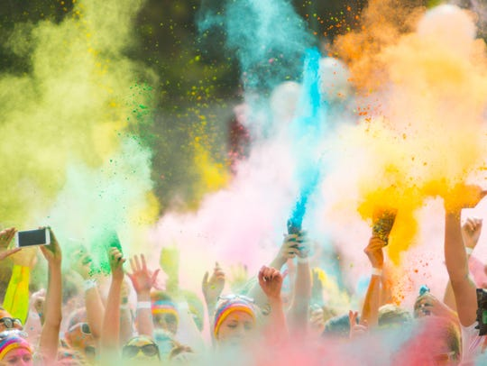 Color Vibe 5k will be in Thousand Oaks on Saturday,