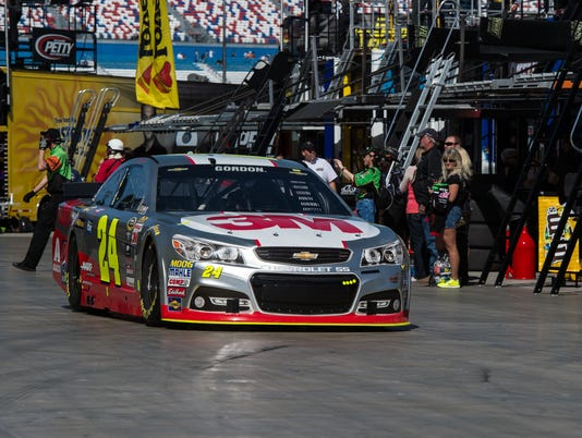 3-6-2015 jeff gordon pole