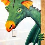 Murals now adorn Gillett Library