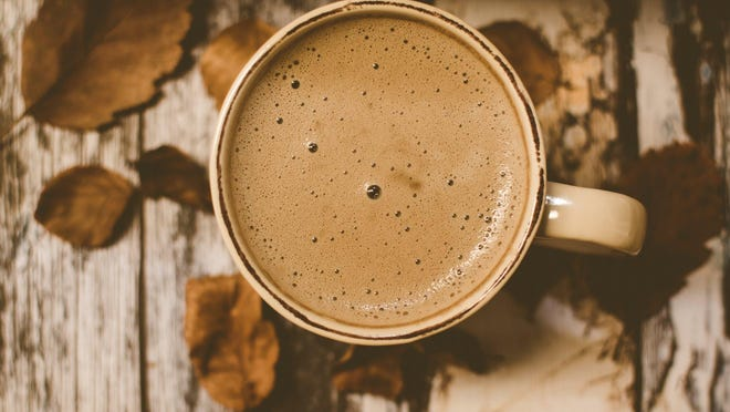 A cup of hot cocoa, as pictured.