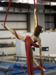 Stephanie Taylor's top interests include aerial silks.