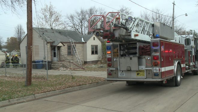 Authorities say nobody was home when fire broke out at this southside home, but two dogs were killed in the blaze.