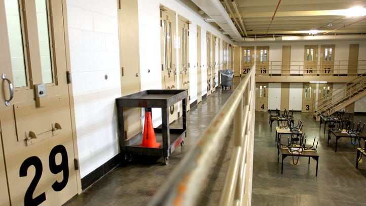 The Iowa Corrections Department says an inmate struck