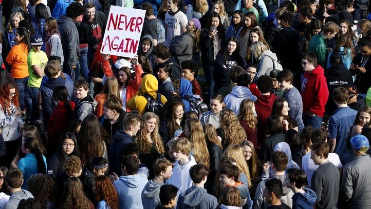 Salem-Keizer students join national walkouts over gun violence