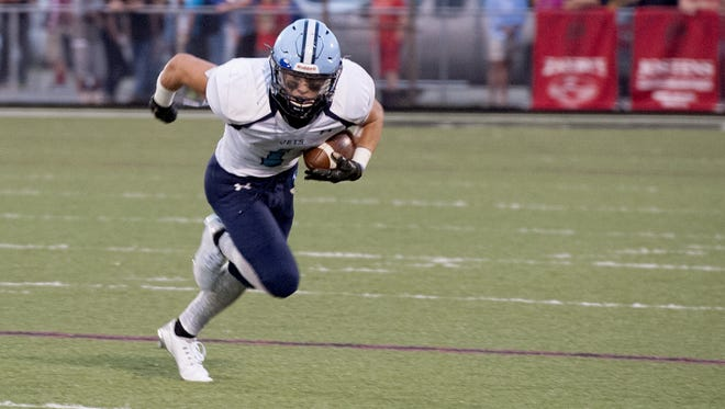 Michael Cantrell and Enka are home for Friday's game against undefeated Hayesville.