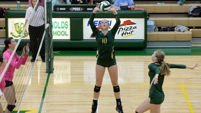 Reynolds senior Courtney Koehler (10).