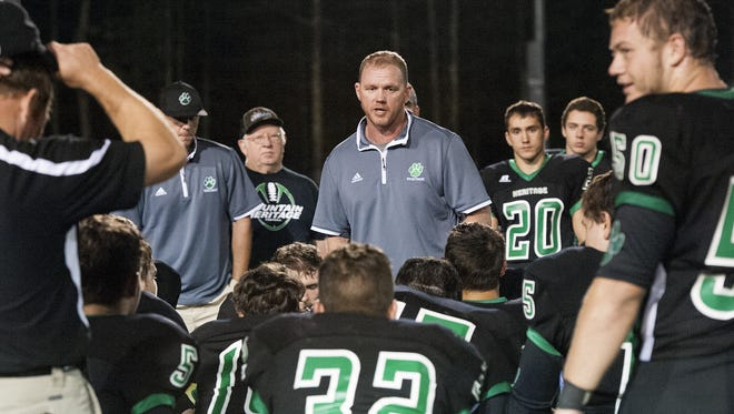 Mountain Heritage and coach Joey Robinson are home for Friday's game against Mitchell.