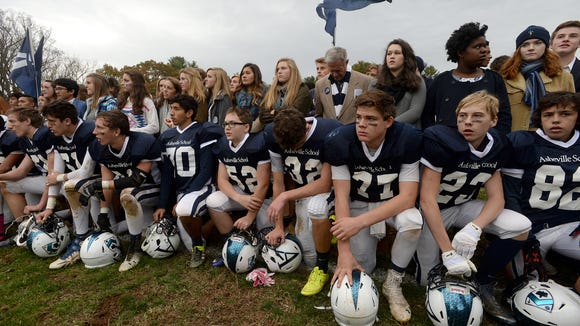 Asheville School lost 48-20 to Christ School on Saturday.