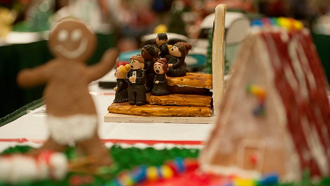 One hundred and sixty competitors took part in the 23rd annual National Gingerbread House Competition in 2015 at the Omni Grove Park Inn.