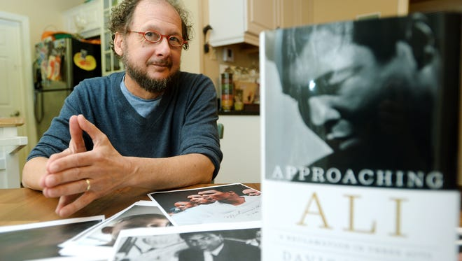 """Asheville resident and author Davis Miller has written a second book stemming from his unique relationship with famous boxer Muhammad Ali titled """"Approaching Ali."""" Miller has also published another book about Ali, """"The Tao of Muhammad Ali,"""" and co-wrote an opera about the boxer."""