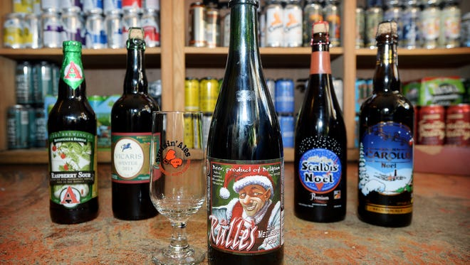 These winter beers will cheer up your holiday season. Look in Upstate specialty beer stores, or you can order online from Asheville's Bruisin' Ales.