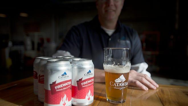 Catawba Brewing's Firewater IPA is a popular local IPA.