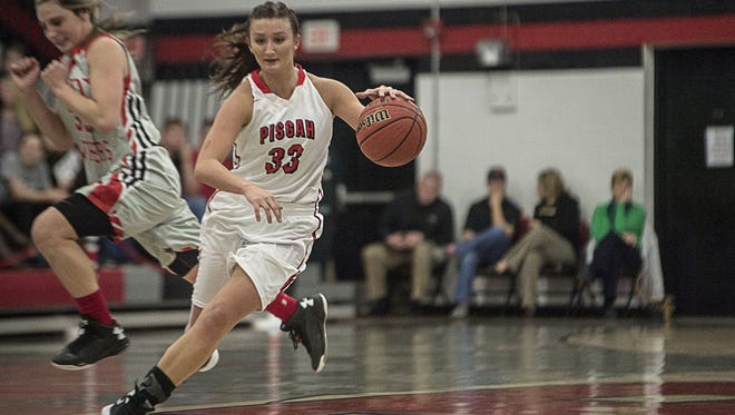 Pisgah senior Brooklyn Allen has 1,986 career points after Wednesday night.