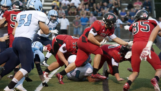 Pisgah junior Michael Parrott has committed to play college football for Alabama.
