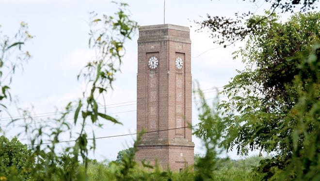"The developer of a distribution center in Enka says the historic clock tower needs repairs, but it will make them. Samet Corp. said it is also looking at restoring the ""ENKA"" letters that once graced the tower."