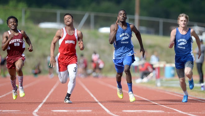 The Mountain Athletic Conference track meet was held Tuesday at Erwin.