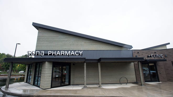 Sona Pharmacy and Clinic- a community pharmacy, urgent care, and primary care in one- is located in East Asheville and scheduled to open the end of May.