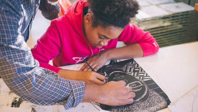Louisville Visual Art Children's Fine Art