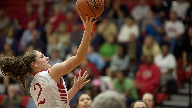 Erwin's Dalton Gossett has been selected to play in next month's East-West All-Star girls basketball game.
